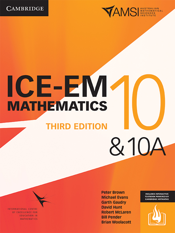 ICE-EM Mathematics 3e Year 10 & 10A